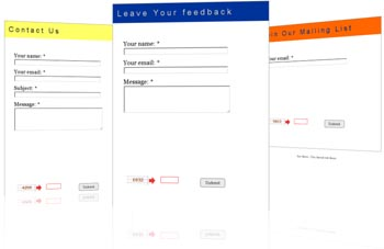Our Free Contact Form sampes