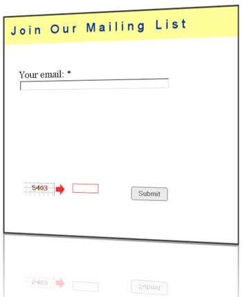 Sample of free mailing list form with autoresponder and custom redirection